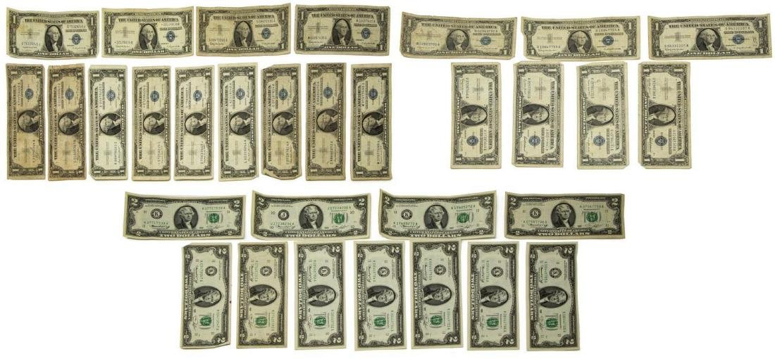 U.S. CURRENCY & COINS, LARGE QUANTITY - 10