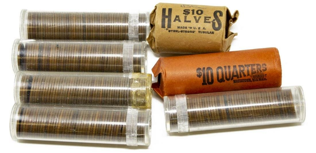 U.S. CURRENCY & COINS, LARGE QUANTITY - 9