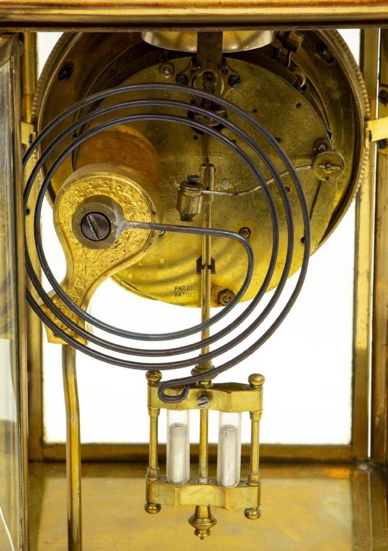 WILLIAM GILBERT 'VISTA' REGULATOR MANTEL CLOCK - 6