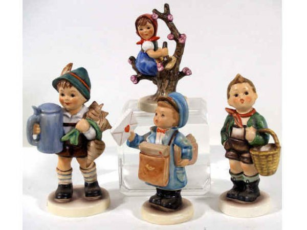 505: GROUP OF HUMMEL GOEBEL FIGURES