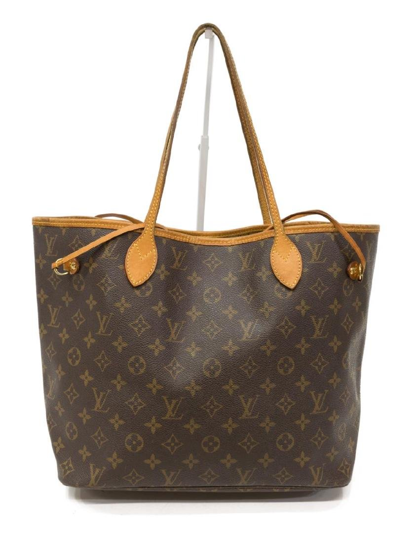 LOUIS VUITTON NEVERFULL MM MONOGRAM CANVAS TOTE