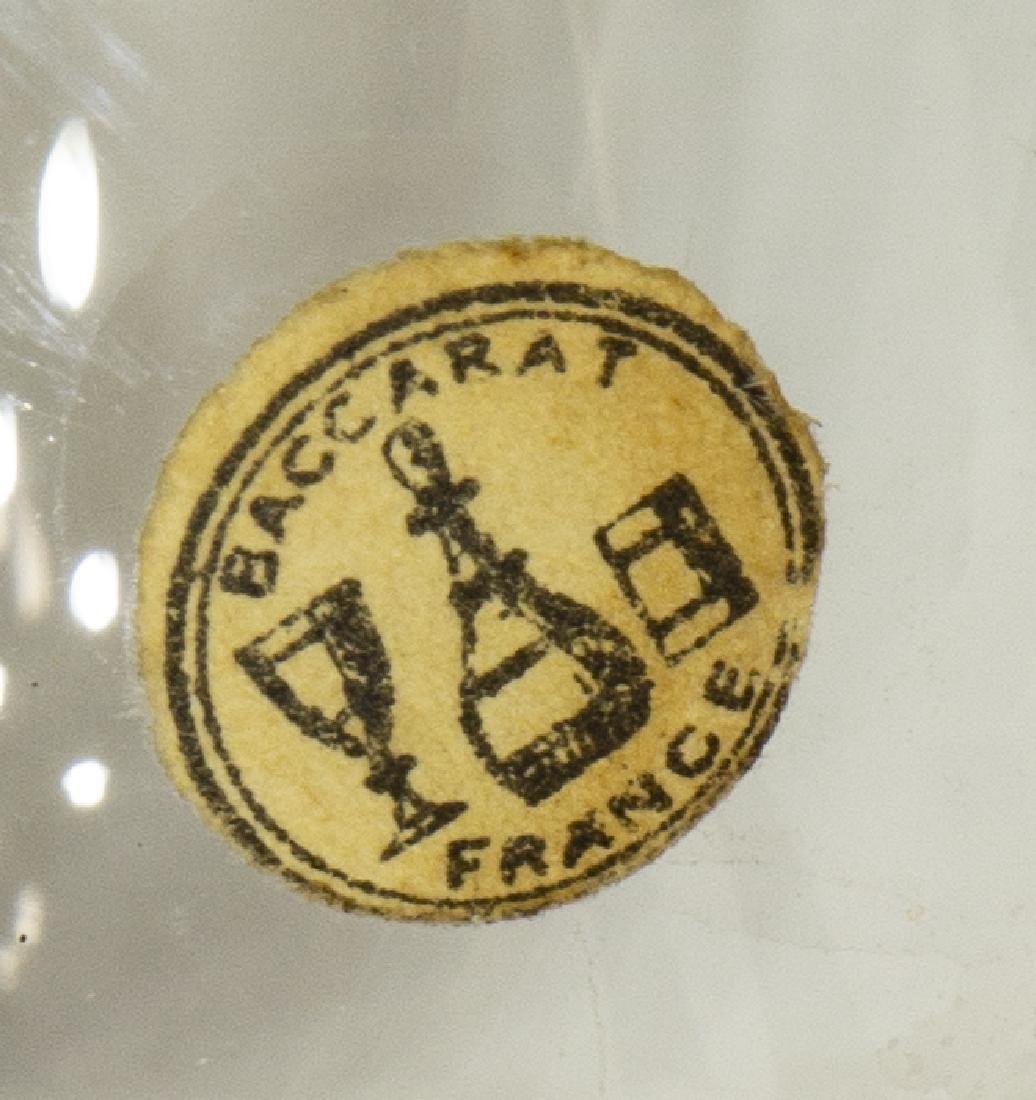 FRENCH BURLWOOD TANTALUS SET W/ BACCARAT CRYSTAL - 5