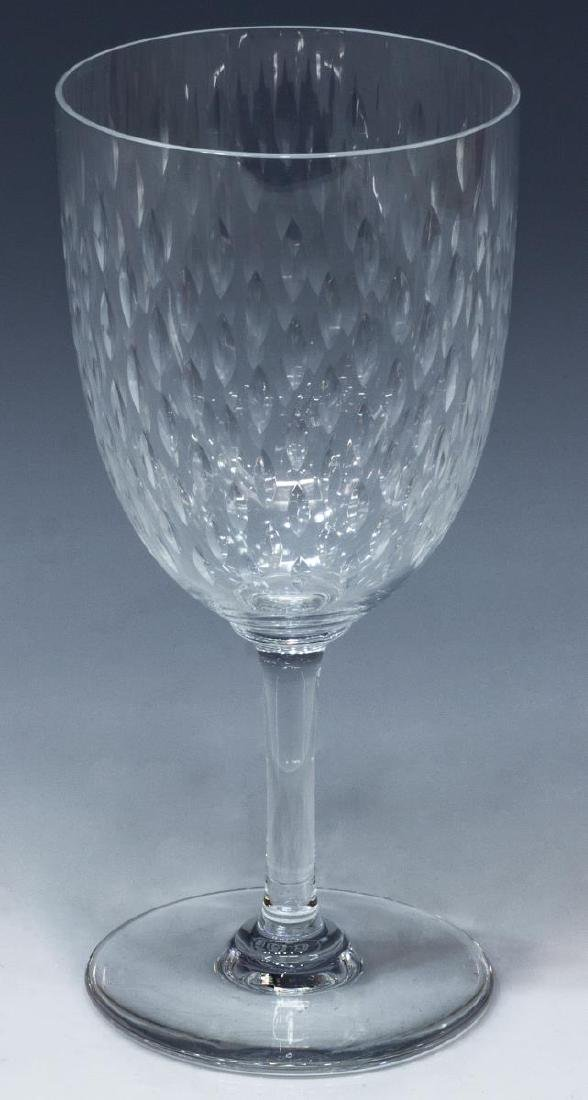 (10) BACCARAT 'PARIS' CRYSTAL TALL WATER GOBLETS - 2
