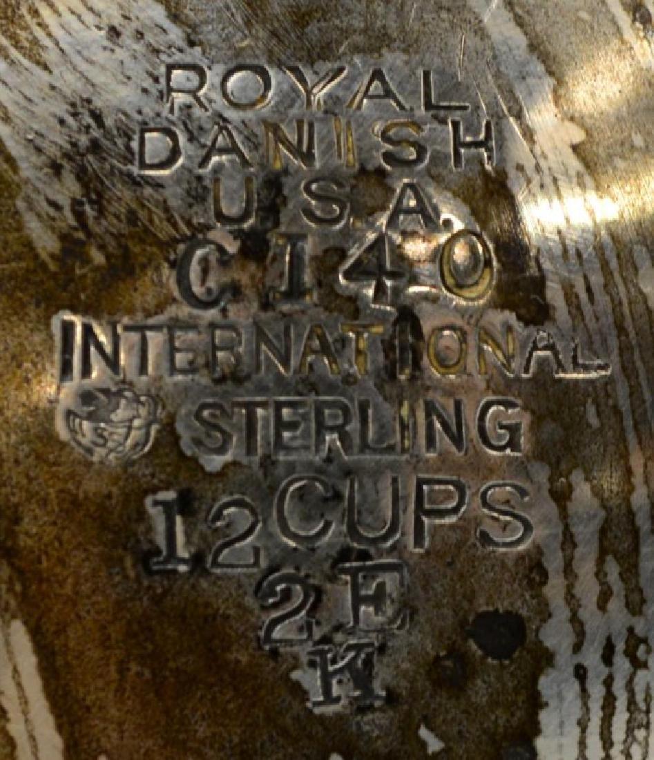INTERNATIONAL STERLING 'ROYAL DANISH' COFFEE POT - 2