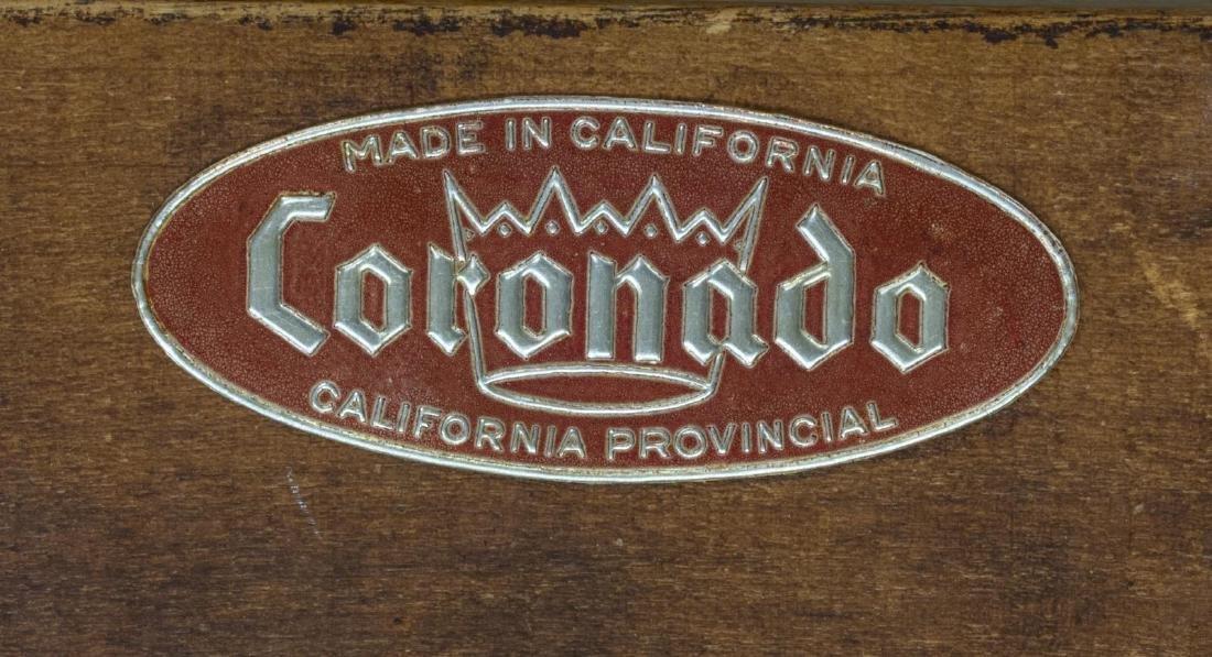 CALIFORNIA CORONADO HINGED HARDWOOD TRESTLE TABLE - 5