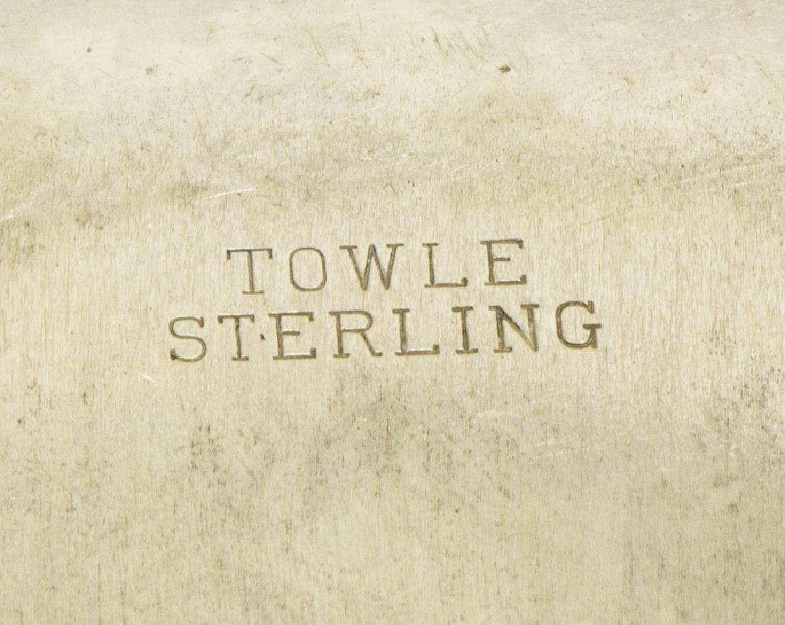 TOWLE 'OLD MASTER' STERLING SILVER SERVICE BOWL - 2