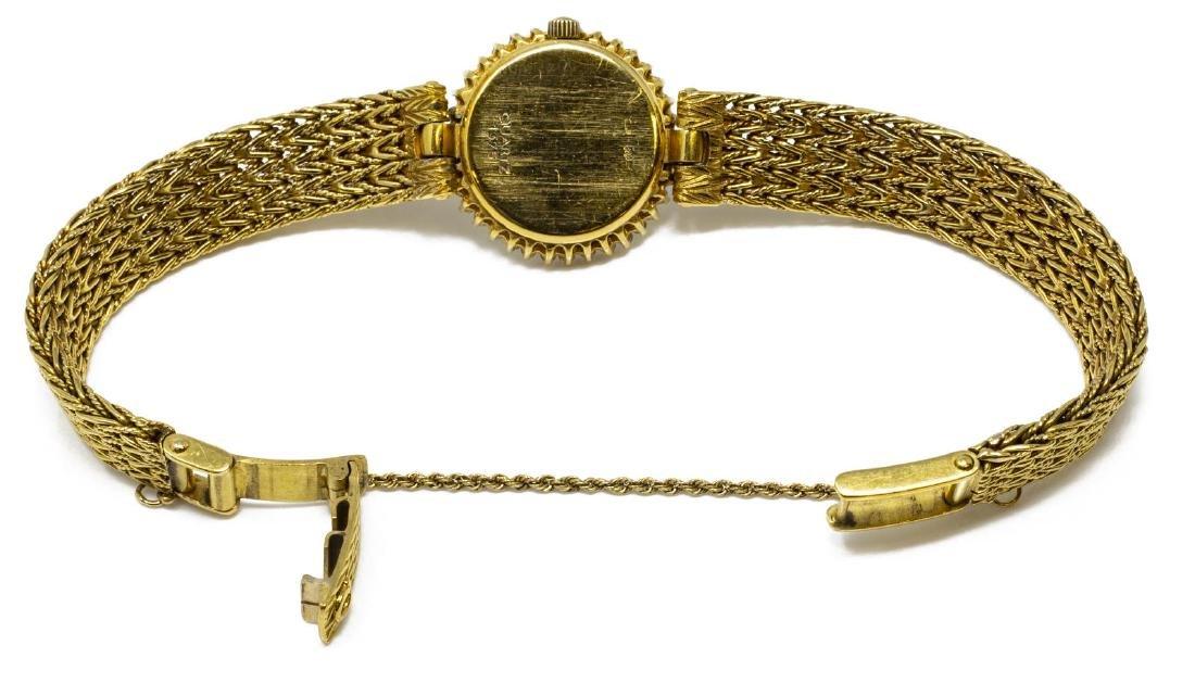ESTATE OMEGA 18KT GOLD & DIAMOND WRISTWATCH FOR SCRAP - 5
