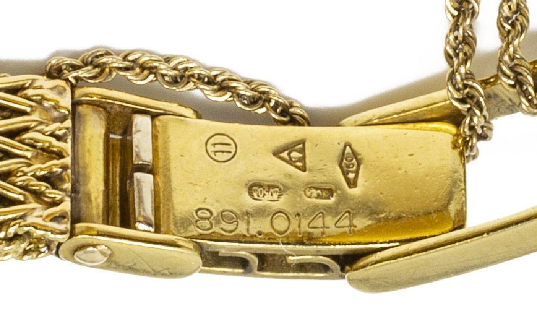 ESTATE OMEGA 18KT GOLD & DIAMOND WRISTWATCH FOR SCRAP - 6