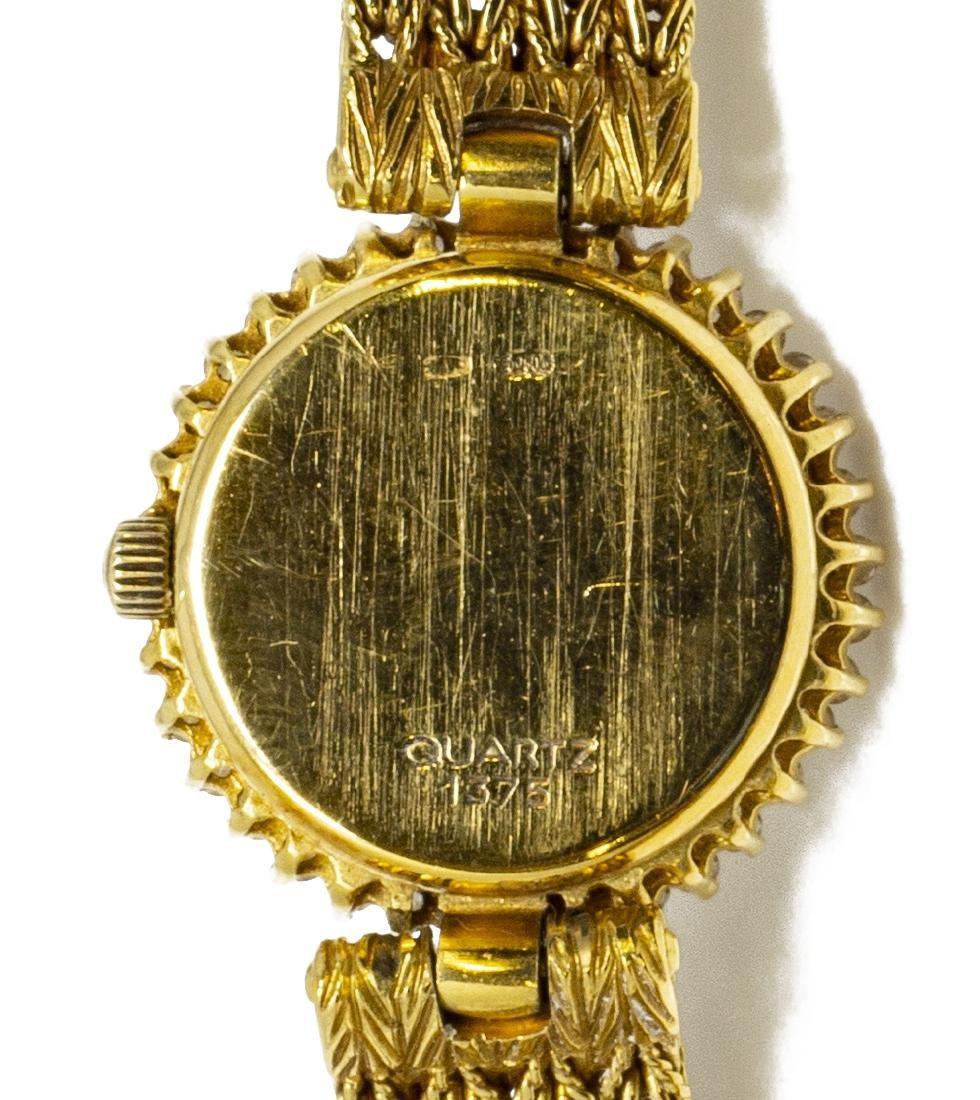 ESTATE OMEGA 18KT GOLD & DIAMOND WRISTWATCH FOR SCRAP - 7