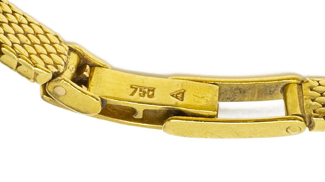 ESTATE LADIES OMEGA 18KT GOLD & DIAMOND WRISTWATCH - 5