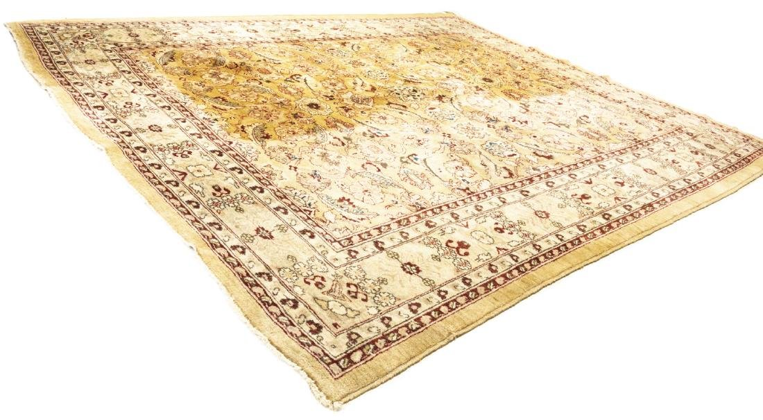 """PERSIAN STYLE HAND-TIED WOOL RUG, 9'3"""" X 7'9"""" - 2"""