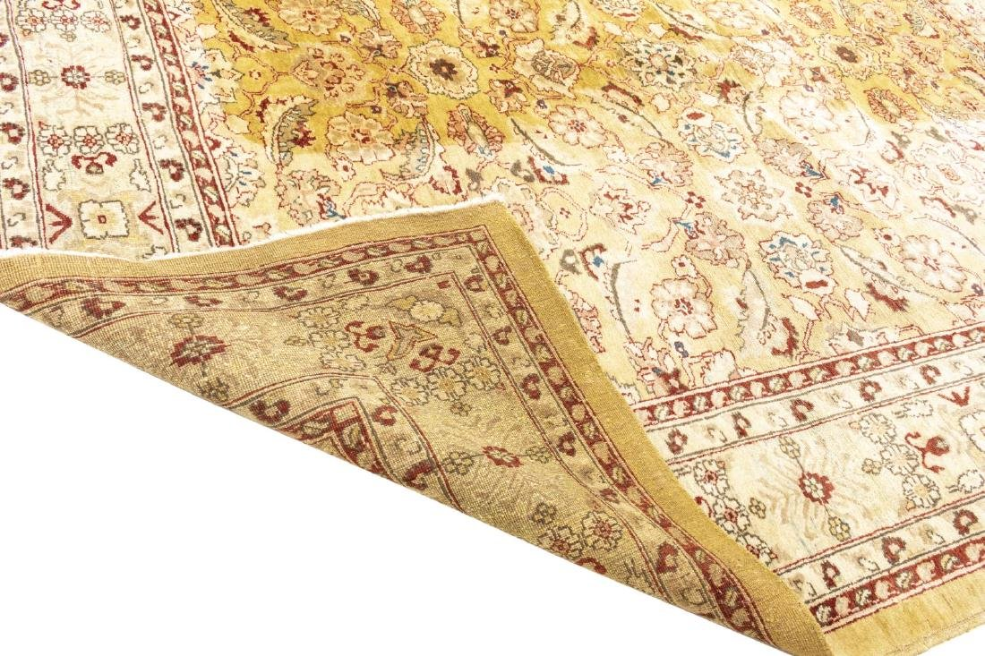 """PERSIAN STYLE HAND-TIED WOOL RUG, 9'3"""" X 7'9"""" - 3"""