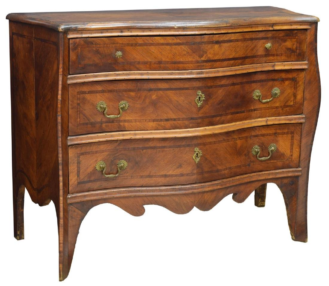 LOUIS XIV WALNUT COMMODE, 18TH C.