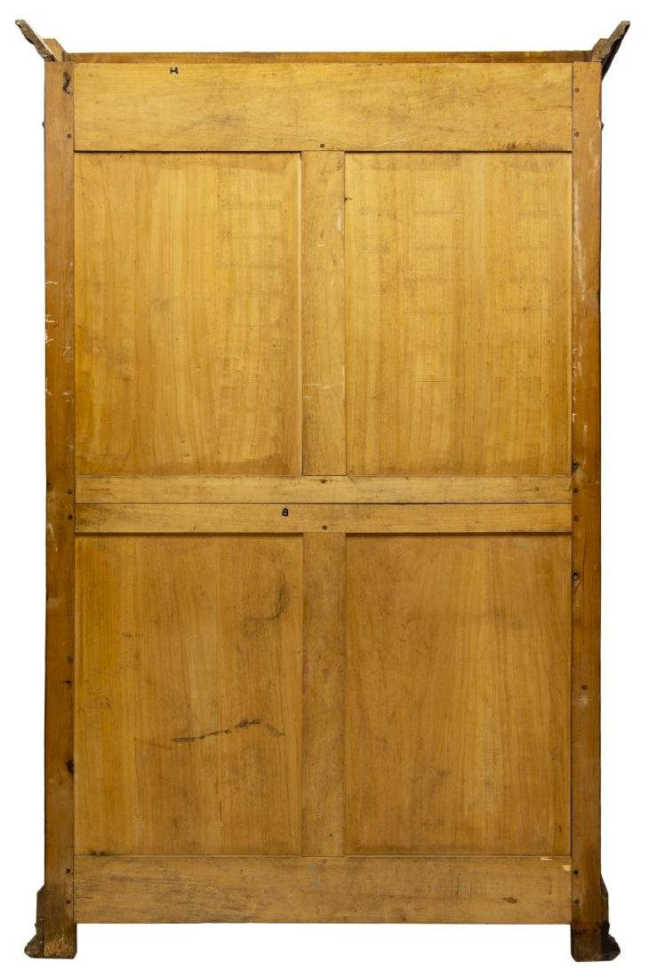 FRENCH LOUIS PHILIPPE WALNUT DOUBLE-DOOR ARMOIRE - 3
