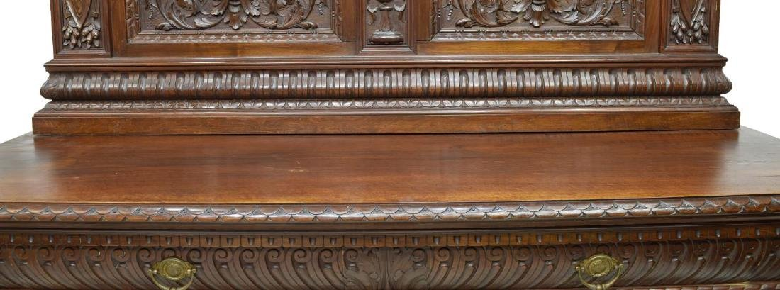 ITALIAN RENAISSANCE REVIVAL CARVED SIDEBOARD - 3
