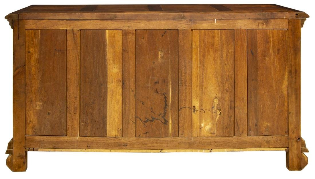 FRENCH HENRI II STYLE CARVED WALNUT BUFFET - 7
