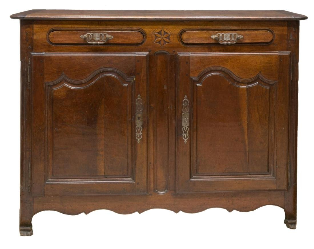 FRENCH LOUIS XV STYLE SIDEBOARD BUFFET - 2