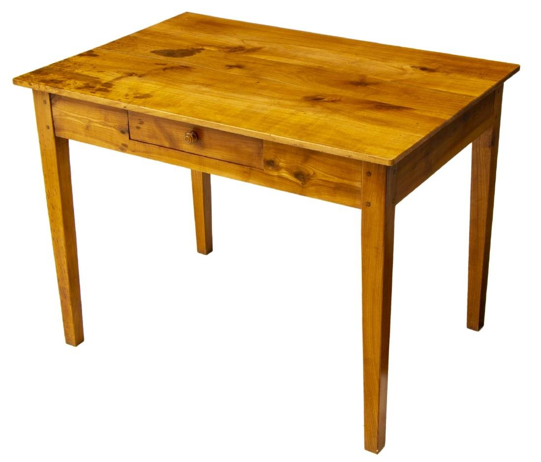 FRENCH LOUIS PHILIPPE FRUITWOOD DESK