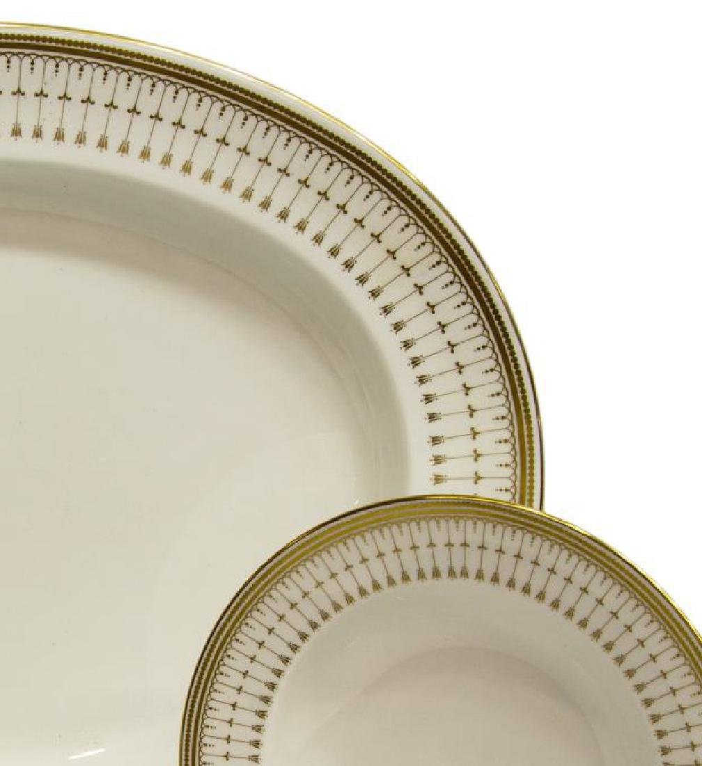 (46) SPODE 'QUEEN'S GATE' CHINA DINNER SERVICE - 3