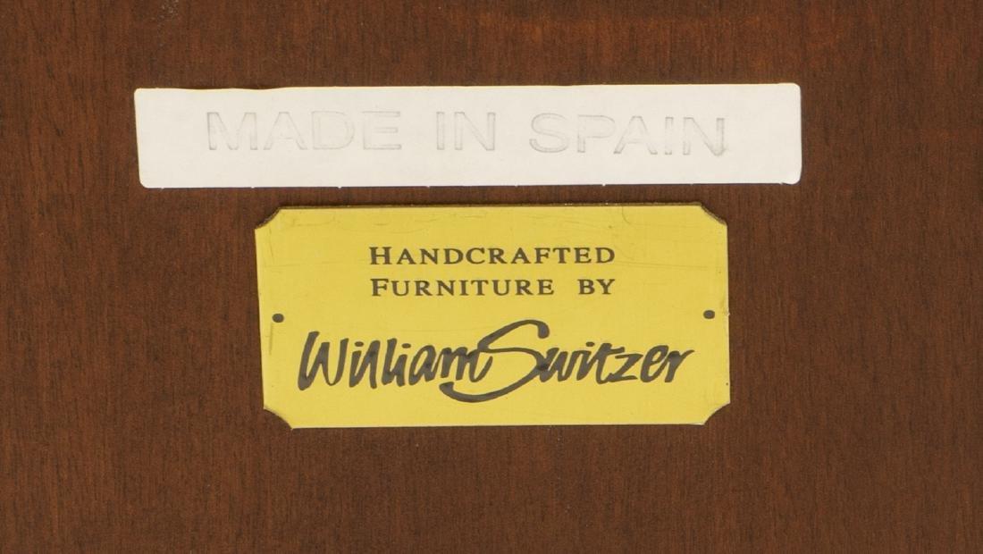 WILLIAM SWITZER EMPIRE STYLE MAHOGANY BUFFET - 3