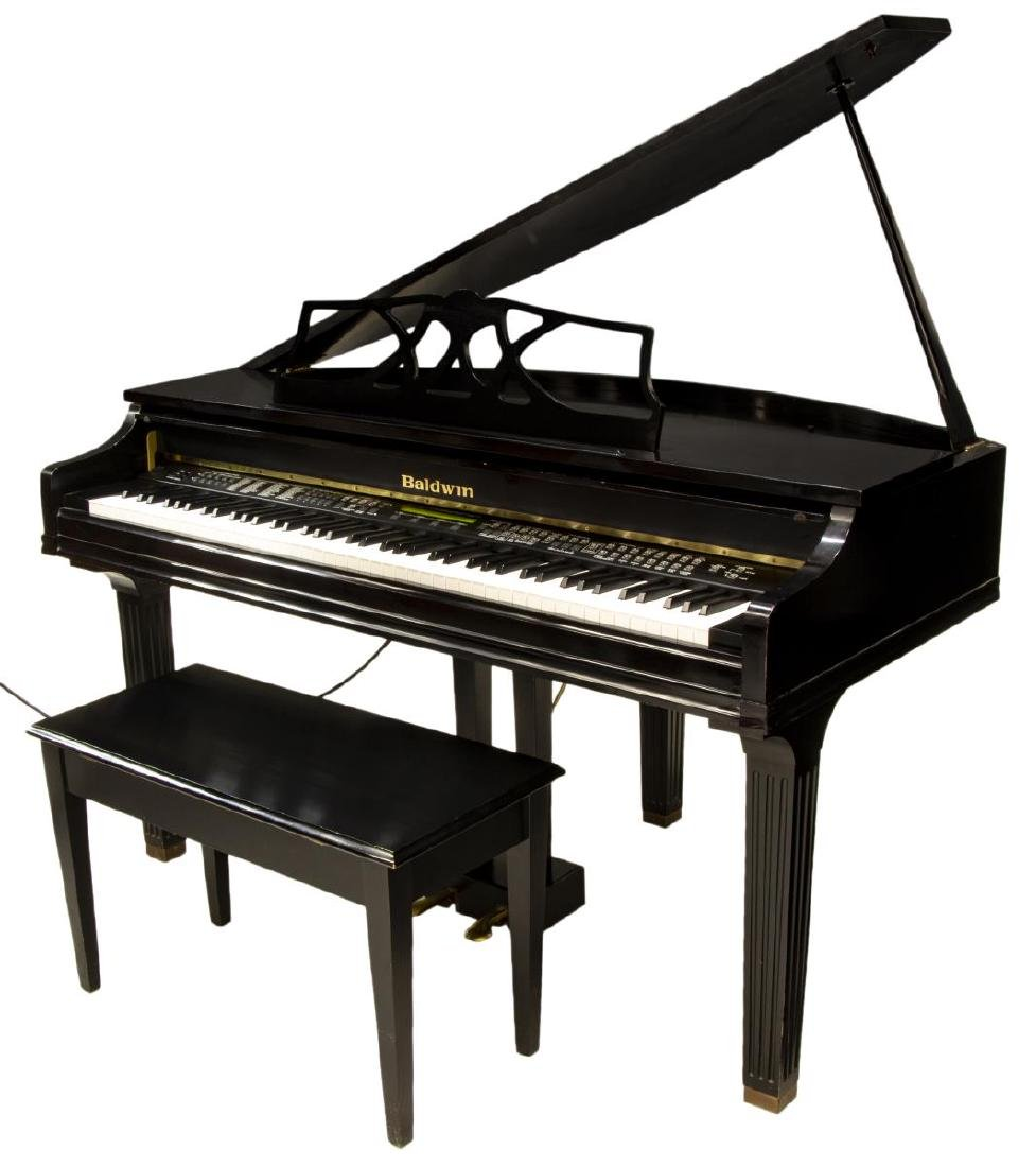 BALDWIN DIGITAL BABY GRAND PIANO & BENCH - 2