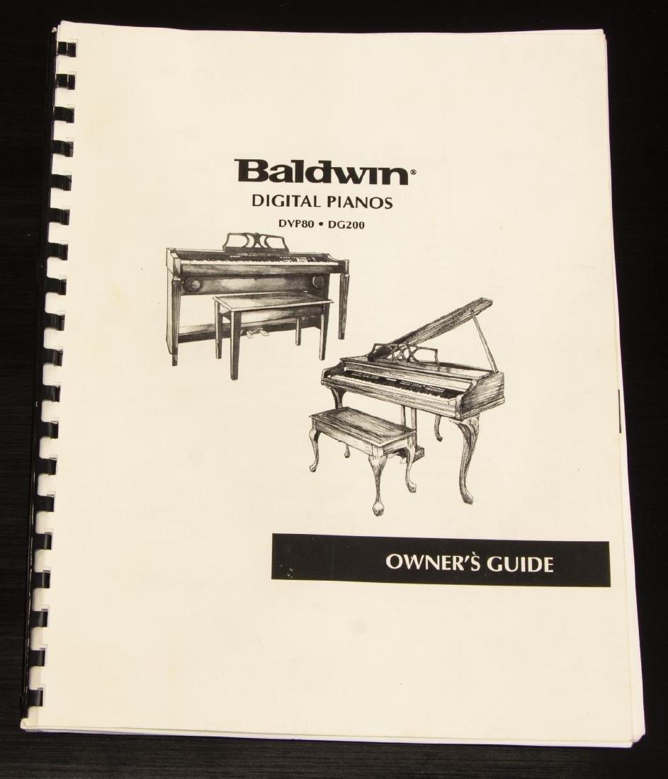 BALDWIN DIGITAL BABY GRAND PIANO & BENCH - 7