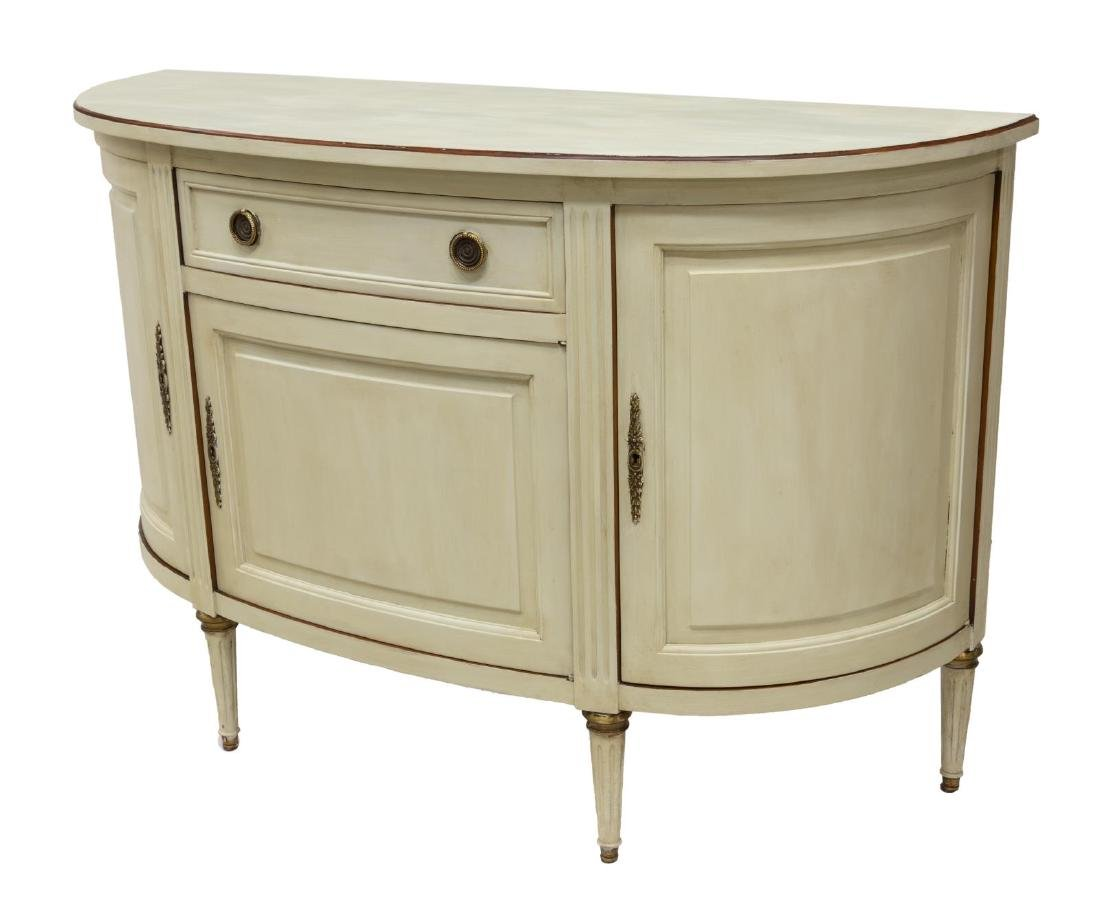 FRENCH LOUIS XVI PAINTED CONSOLE - 2