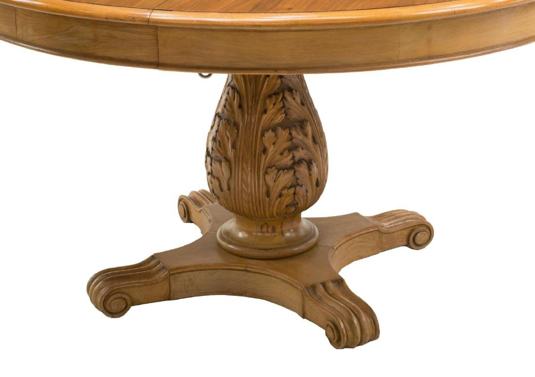 FRENCH EXTENSION DINING TABLE - 2