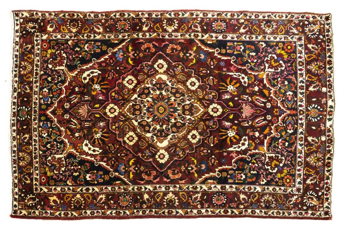 CONTINENTAL HAND-TIED BAKHTIARI STYLE RUG