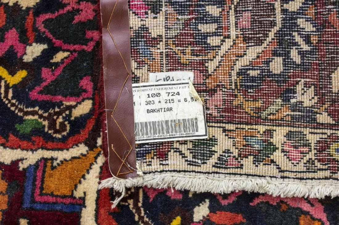 CONTINENTAL HAND-TIED BAKHTIARI STYLE RUG - 4