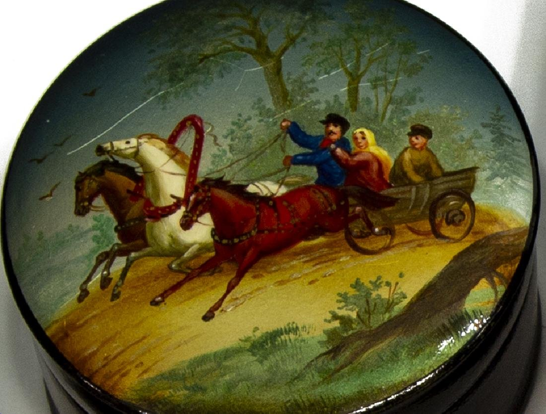 (3) RUSSIAN PAINTED & LACQUERED BOXES, USSR - 2