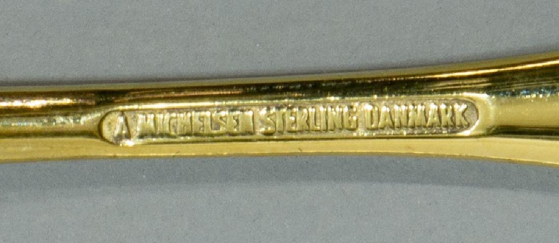 (12) DANISH SORENSEN & MICHELSEN STERLING SPOONS - 4