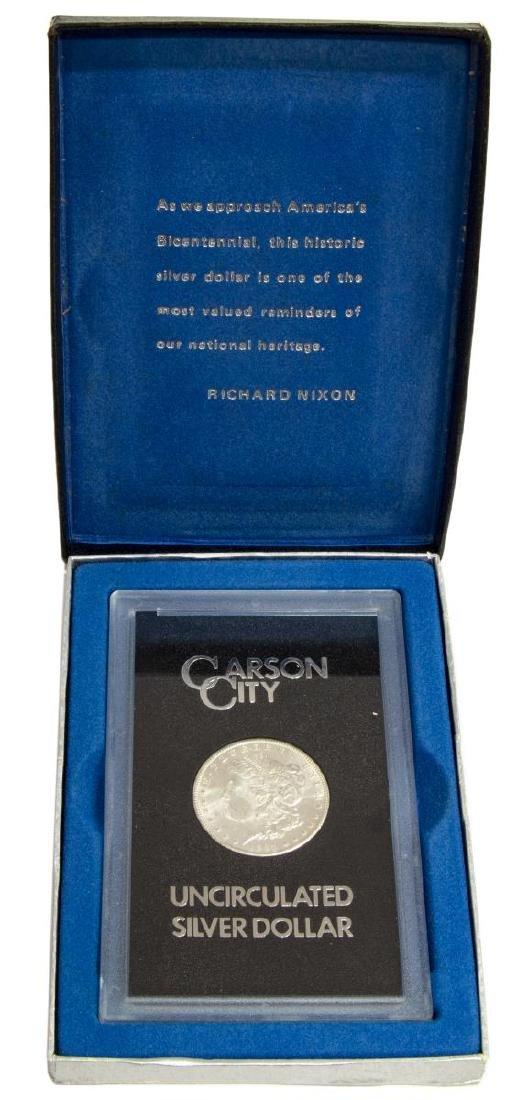 1884 UNCIRCULATED CARSON CITY SILVER DOLLAR