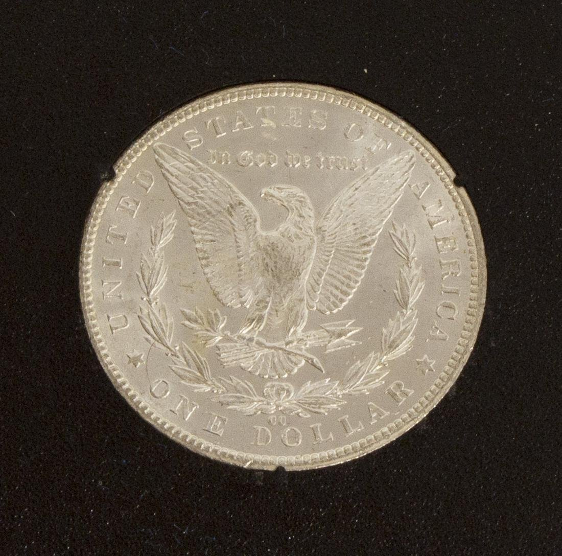 1884 UNCIRCULATED CARSON CITY SILVER DOLLAR - 3