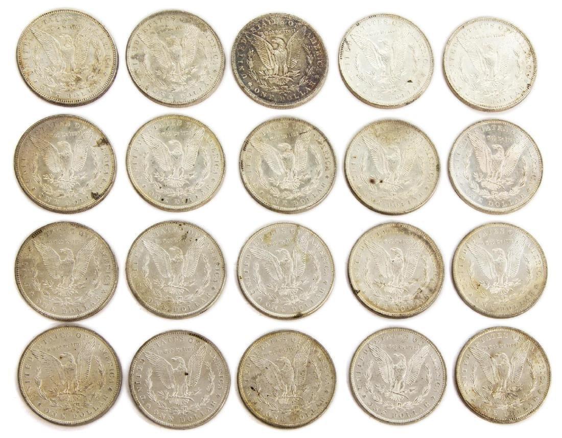 (20) U.S. BU UNCIRUCLATED SILVER DOLLARS, 1881S - 2