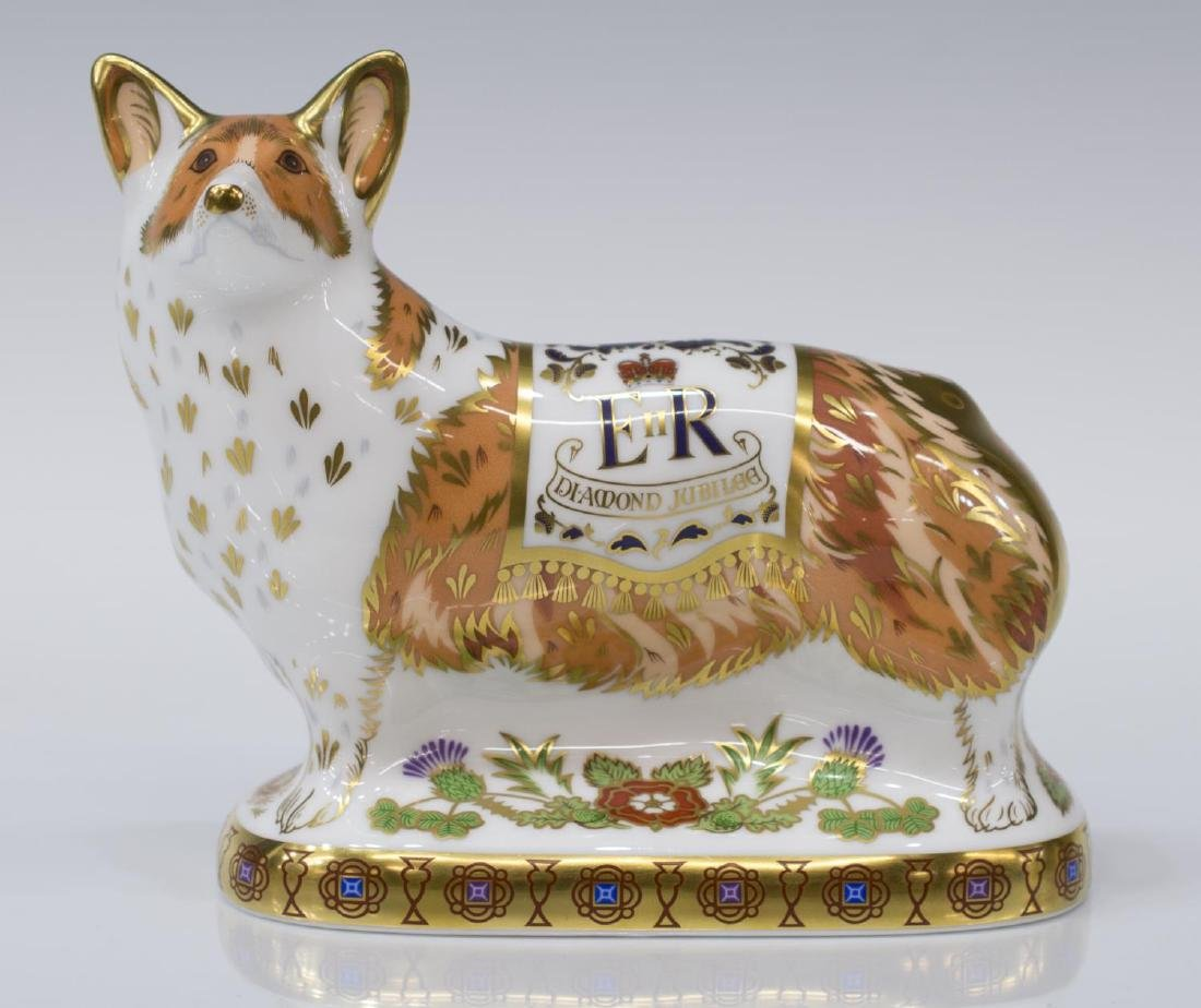 (4) ROYAL CROWN DERBY LIMITED EDITION PAPERWEIGHTS - 3
