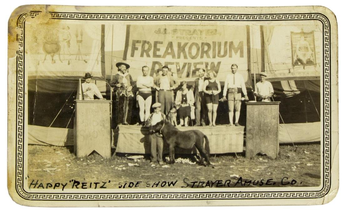 (16) VINTAGE CIRCUS & SIDESHOW PICTURES - 2