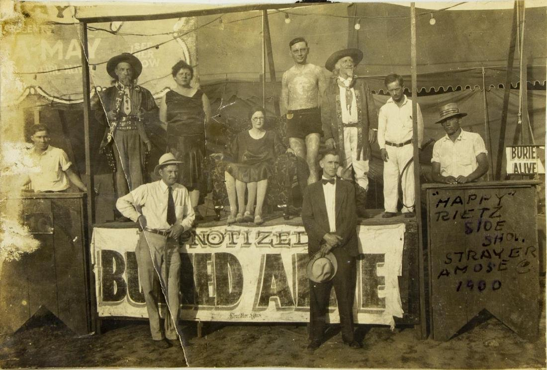 (16) VINTAGE CIRCUS & SIDESHOW PICTURES - 4