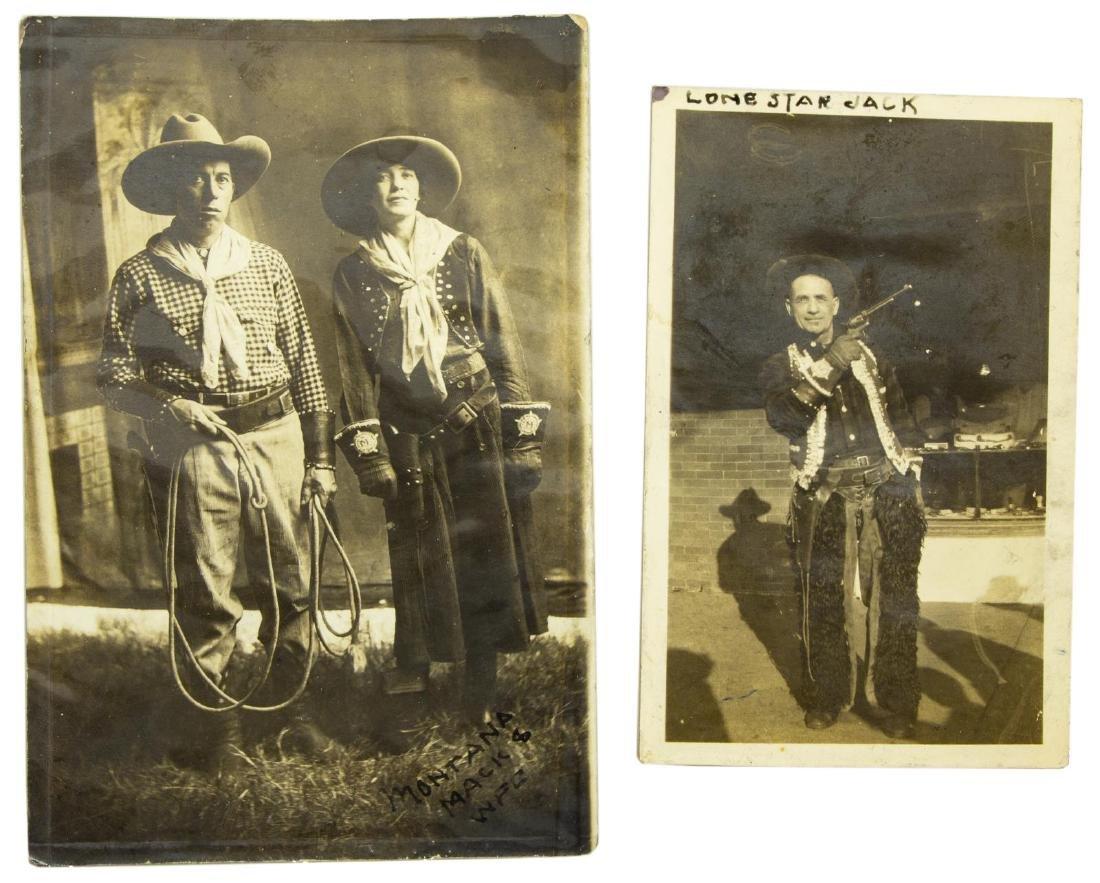 (10) RODEO BUFFALO BILL, PHOTO CARDS & CLIPPINGS - 4