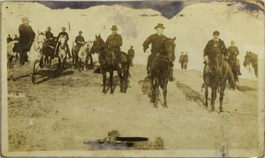 (5) POSTCARD PICTURES, WOUNDED KNEE MASSACRE