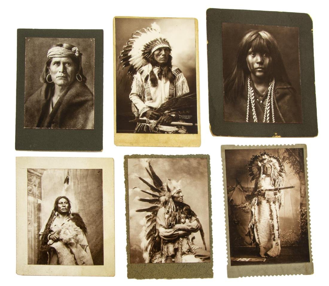 (6) AMERICAN INDIAN PHOTOGRAPHS