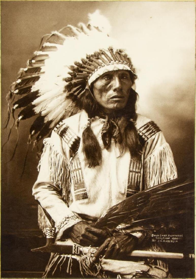 (6) AMERICAN INDIAN PHOTOGRAPHS - 2