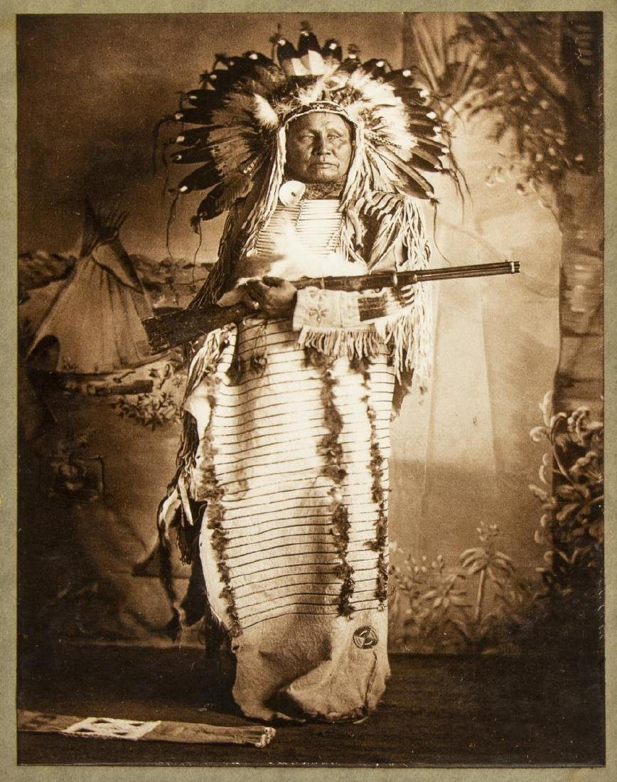 (6) AMERICAN INDIAN PHOTOGRAPHS - 5