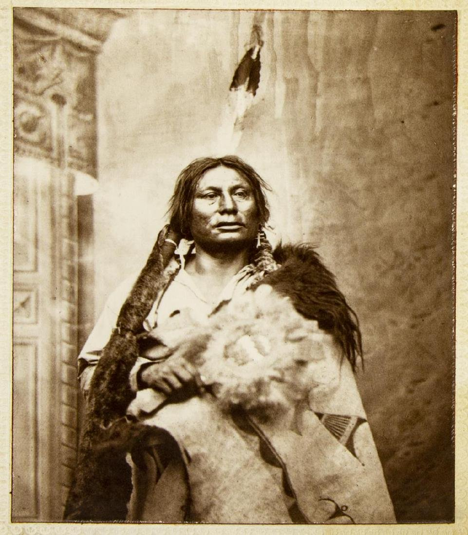 (6) AMERICAN INDIAN PHOTOGRAPHS - 6