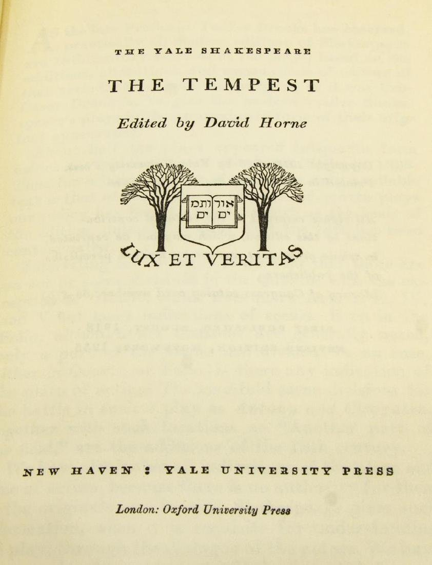 """(40 VOLUMES) """"THE YALE SHAKESPEARE"""", PLAYS, POEMS - 6"""