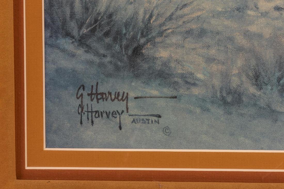 G. HARVEY (TX, D.2017) 'POKER PALS' WESTERN PRINT - 3