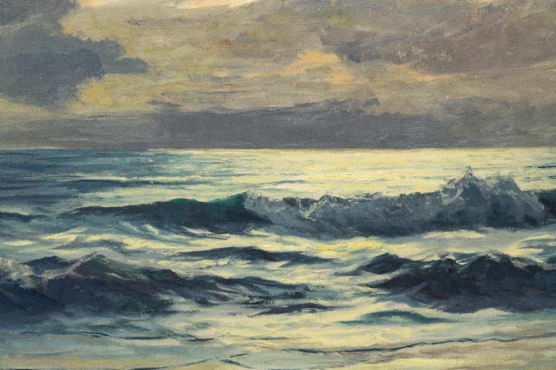 ULRICH FISHER (TX, 1887-1970) SEASCAPE PAINTING - 3