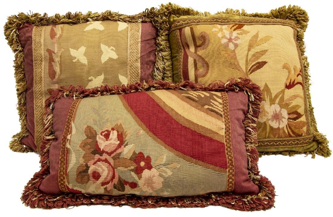FLORAL TAPESTRY THROW PILLOWS