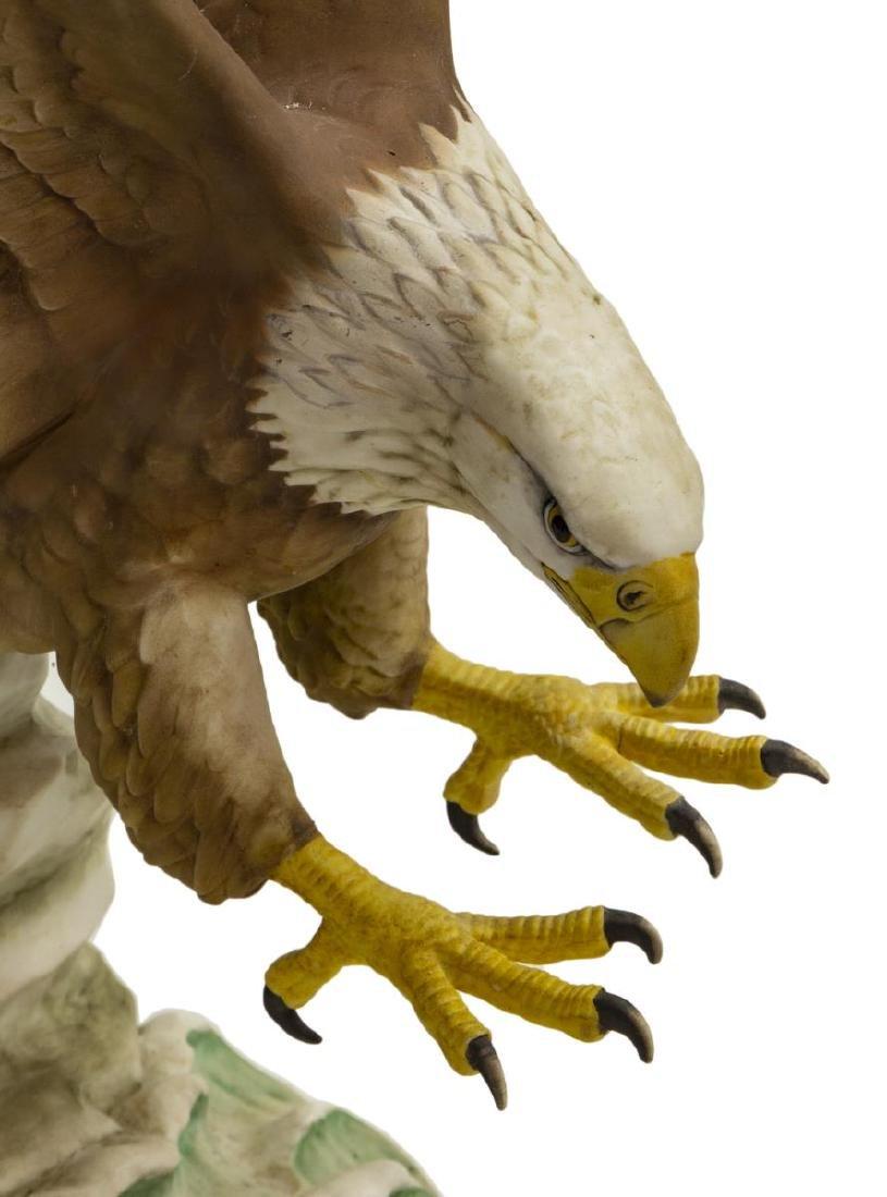 KAISER LIMITED EDITION PORCELAIN EAGLE FIGURE - 4