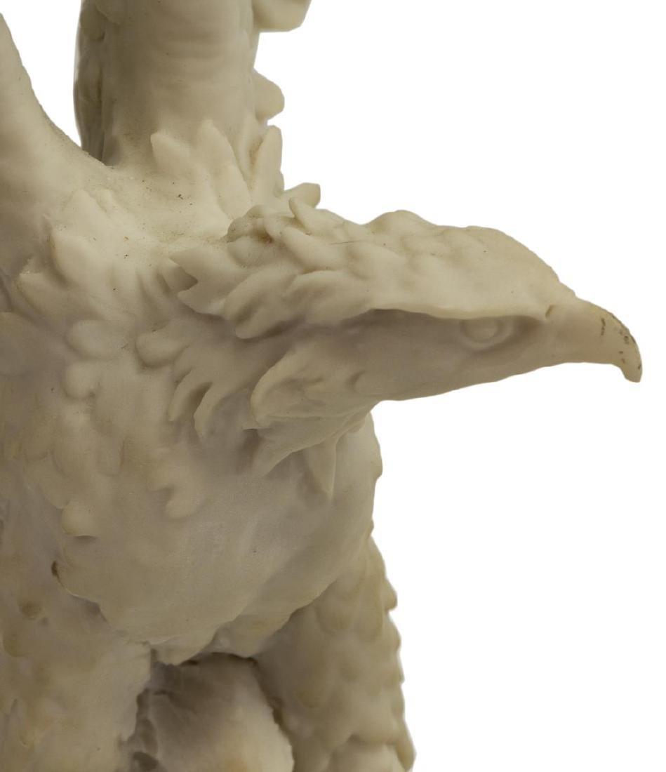 (2) BISQUE PORCELAIN EAGLE FIGURES, GOEBEL & DEAR - 7